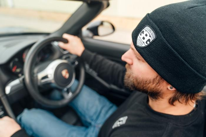 Win A Porsche Boxster - Buy This Beanie For Free Entry
