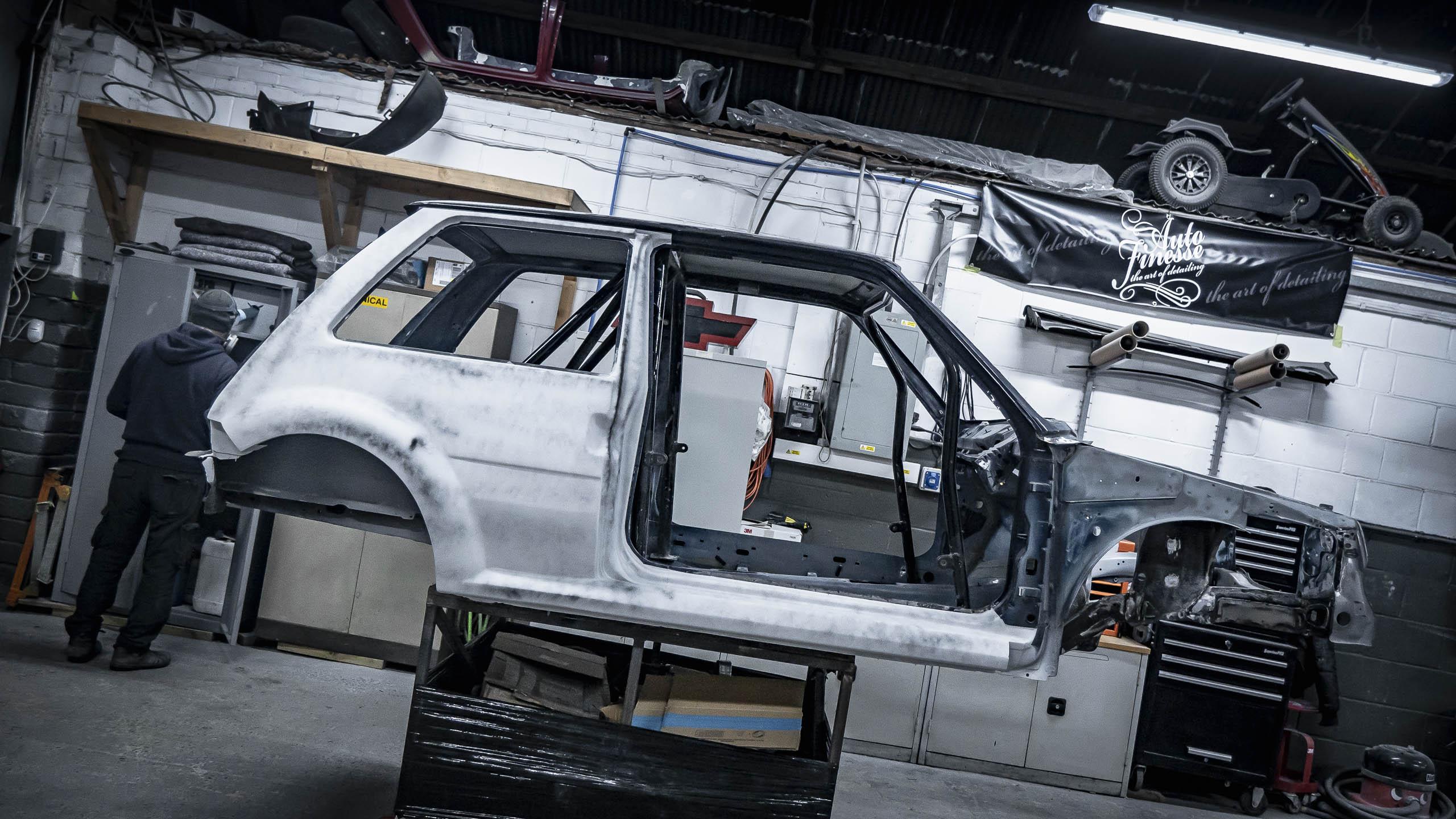 Retro Car Restoration Renault 5 Gt Turbo Build Car Build Sussex