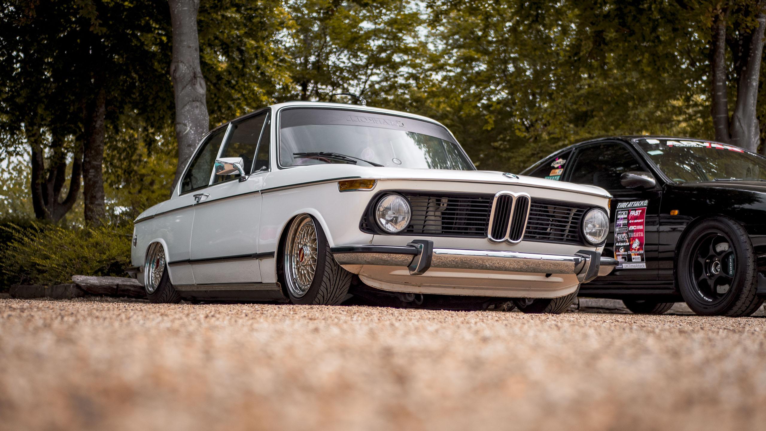 Retro rides weekender 2019 slammed BMW