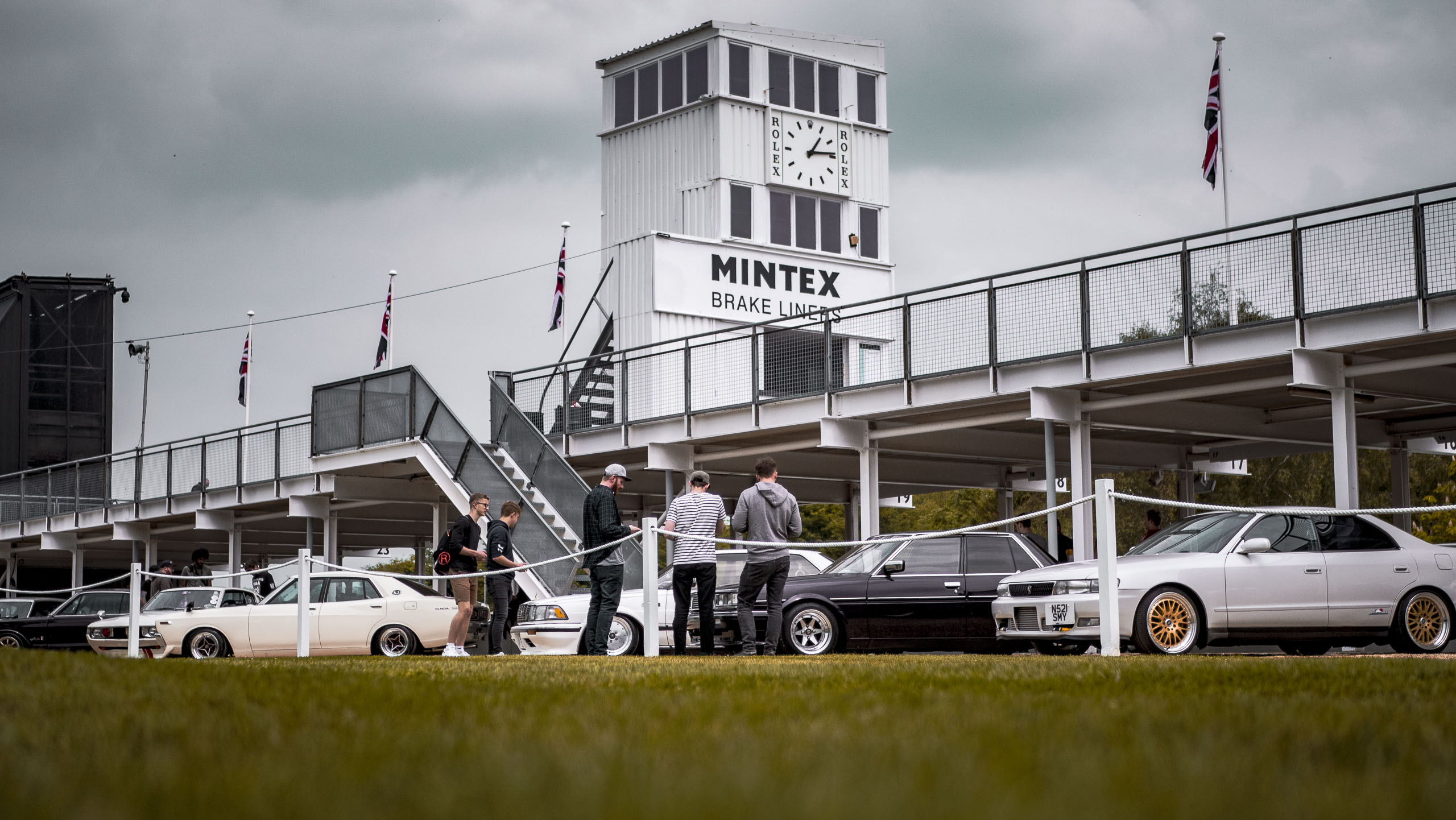 Retro rides weekender 2019 Goodwood track